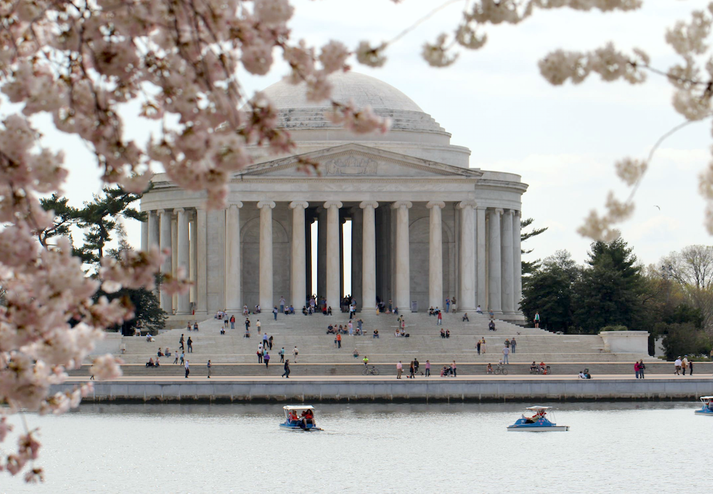 classical architecture Jefferson Memorial
