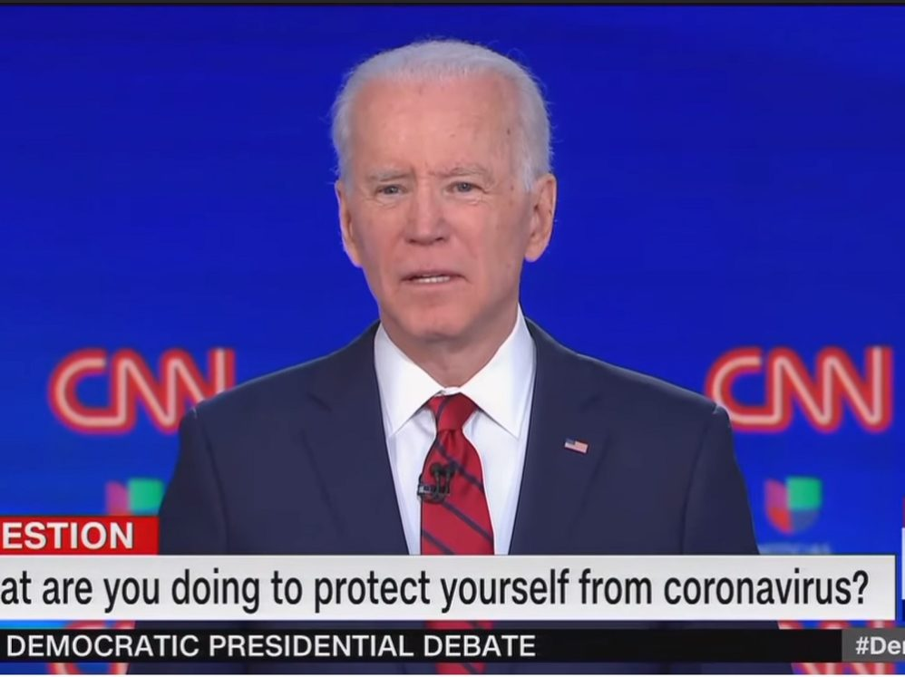 Joe Biden Lies About Coronavirus Testing To Make Trump Look Bad