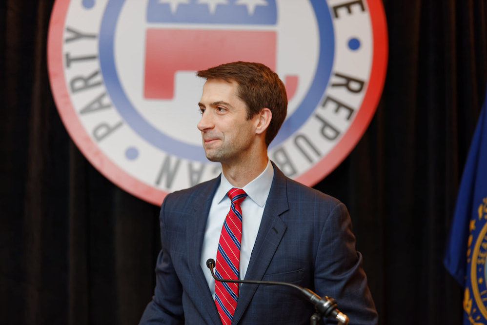 New York Times Falsely Accused Sen. Tom Cotton Of Promoting Conspiracy Theories About Wuhan Virus Origin