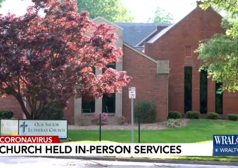 Violent Threats, Hate Mail Hit Raleigh Church For Holding Services With Under 10 People