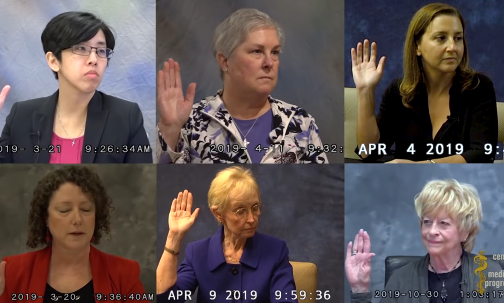 New Video Shows Planned Parenthood Officials Sworn Testimony About Payments For Fetal Tissue Trafficking