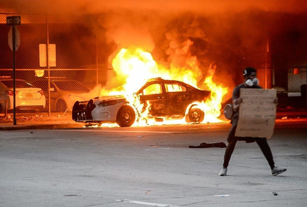 Miami riots. Photo by Mike Shaeen/Flickr.