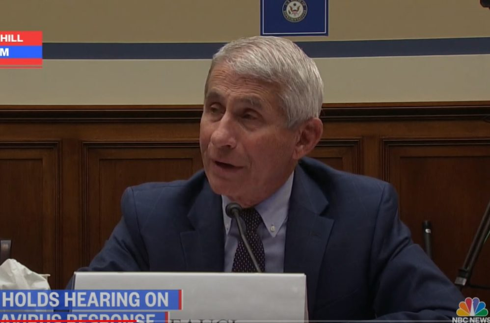 Anthony Fauci Refuses To Say Whether Mass Protests Should Be Limited To Stop Coronavirus Spread