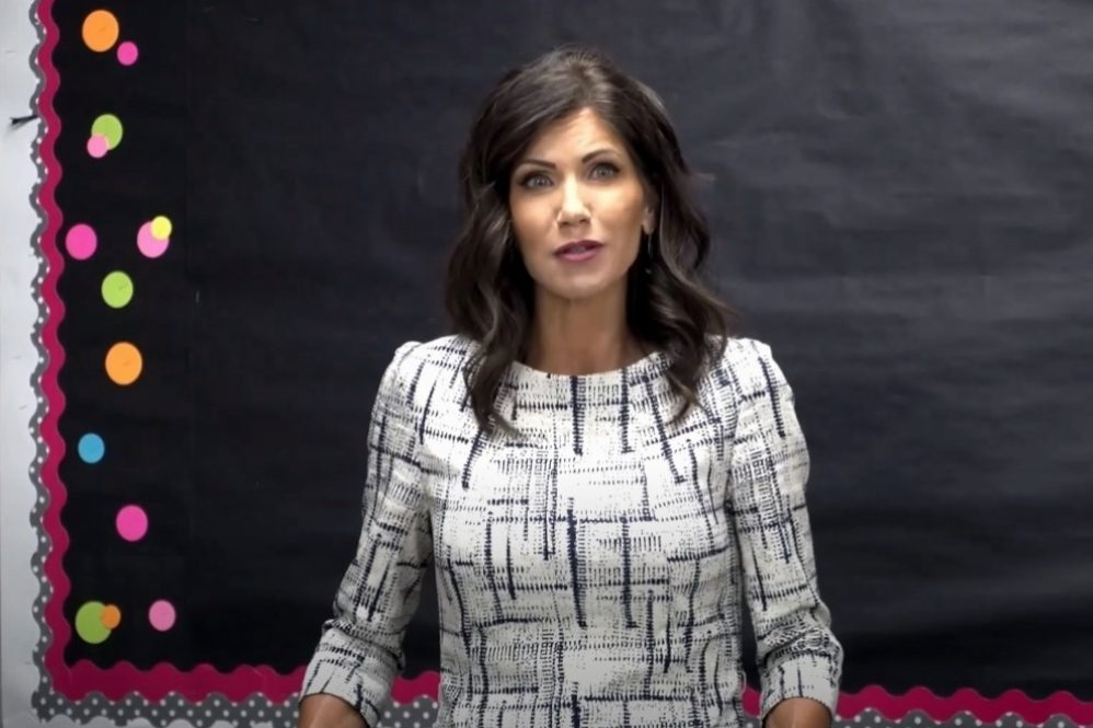 Gov. Kristi Noem: Science Shows Not Going To School Hurts Kids Much Worse Than COVID