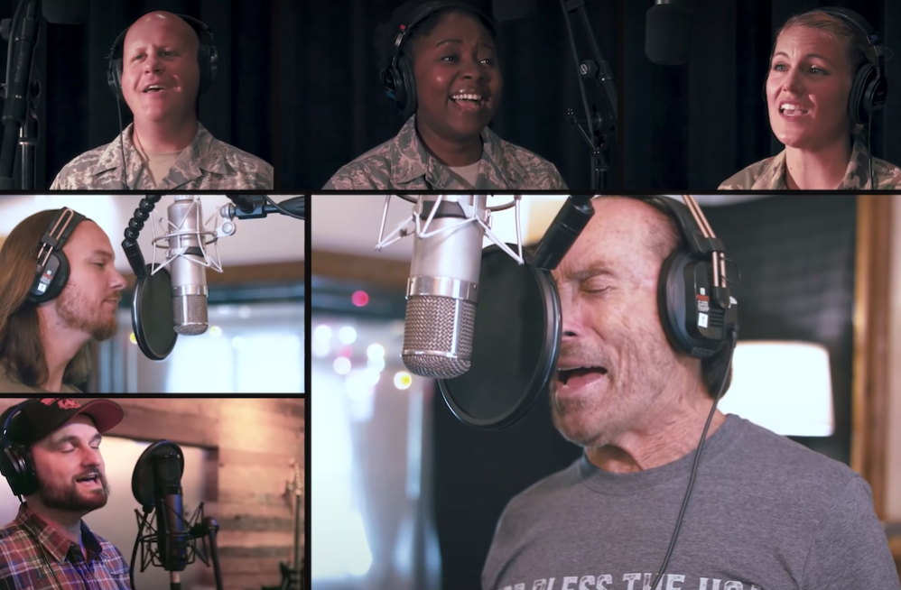 Lee Greenwood's New 'God Bless The USA' Rendition Reaches Peak Patriotism With Home Free And US Air Force