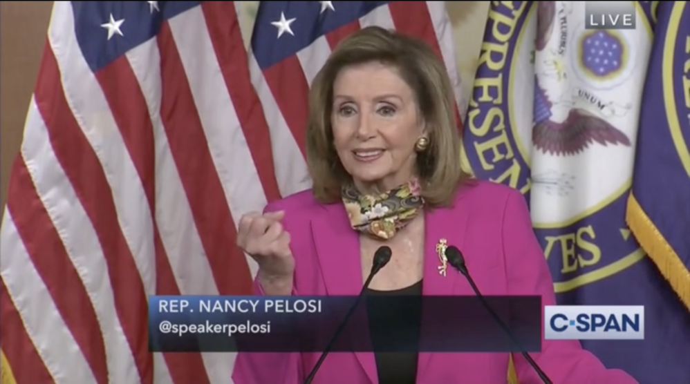 Nancy Pelosi Wants To Keep Churches Closed