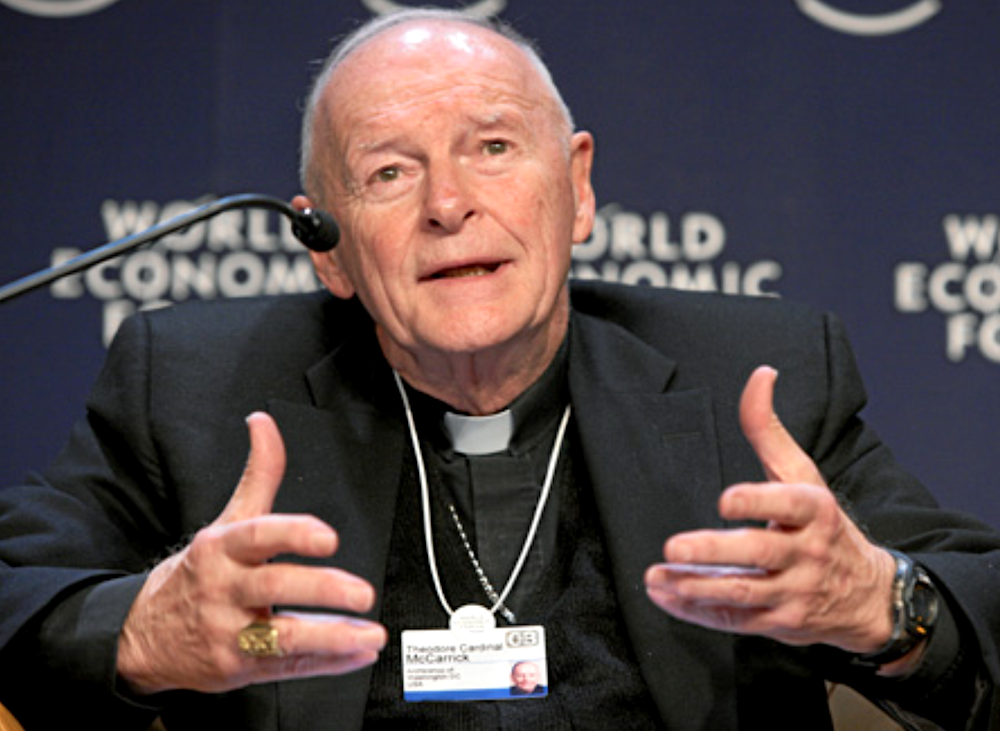 Vatican agreement with China influenced by Theodore McCarrick