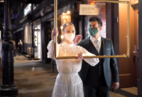 'Voyeur' Theatrical Walking Tour Transforms COVID-Stricken New York City Into 1899 Paris