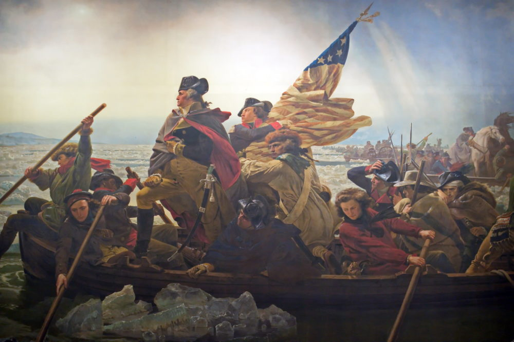 1776 report George Washington Crossing Delaware
