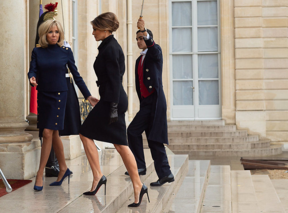 Most Beautiful First Lady Ever Departs For Four-Year Vacation In Florida