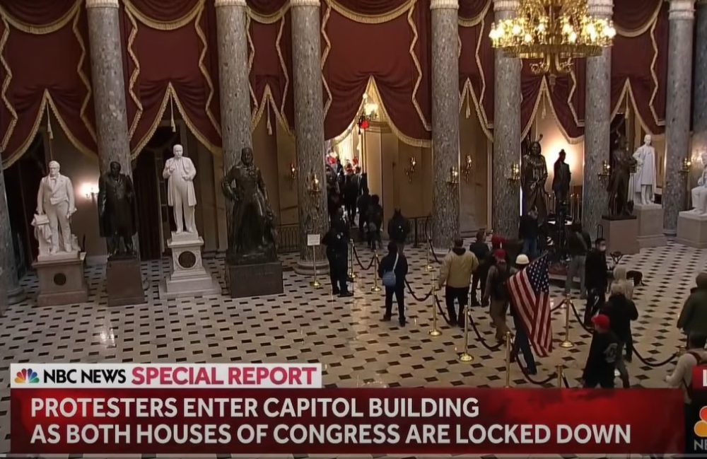 Capitol police on capitol Hill