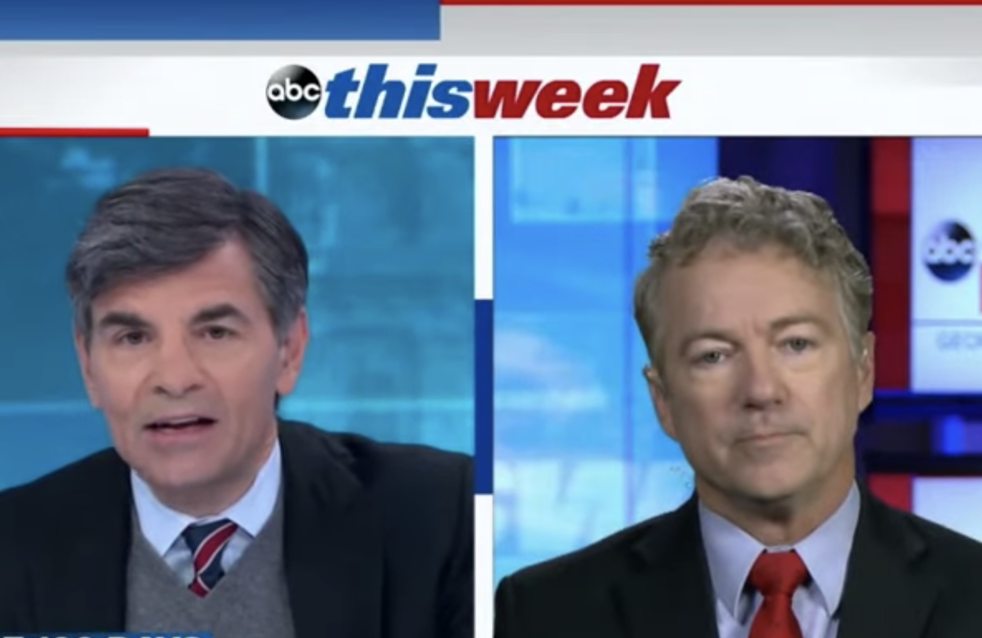 George Stephanopoulos, Rand Paul
