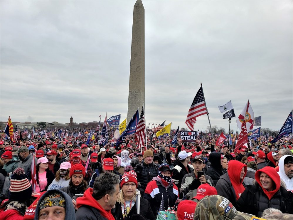 What I Saw At The 'Save America Rally' In Washington, DC On Jan. 6