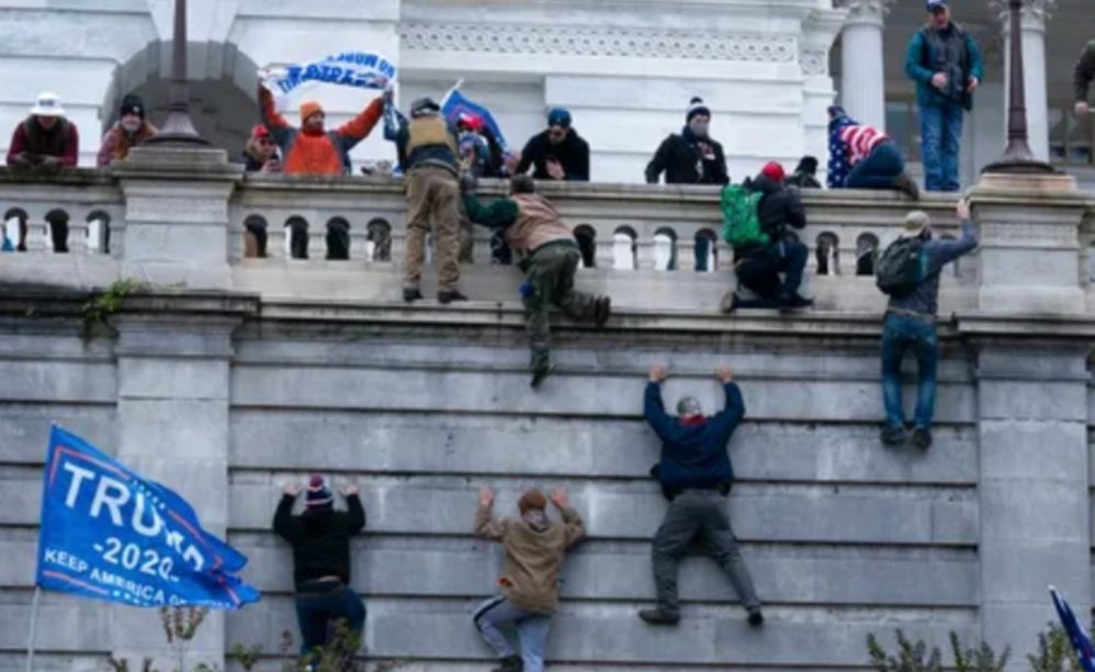 The Nation's Riots Have Now Entered The Capitol. The Center Cannot Hold