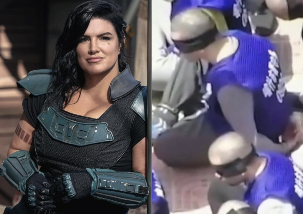 Disney China and Gina Carano