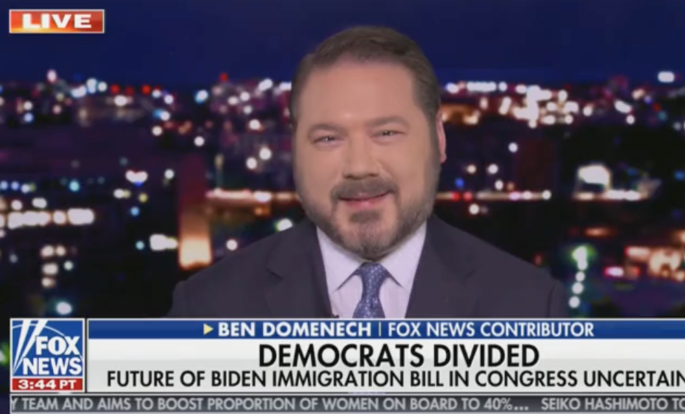 Domenech:  Biden Administration Incentivizing Open Borders Run By Mexican Drug Cartels