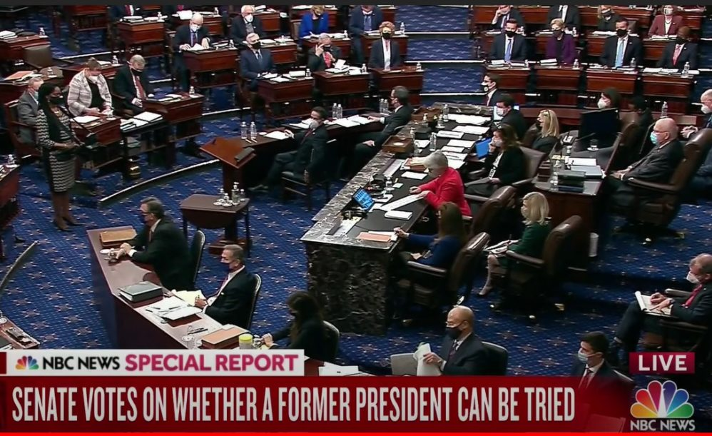 Senate Moves Forward With Impeachment Following Vote On Constitutionality