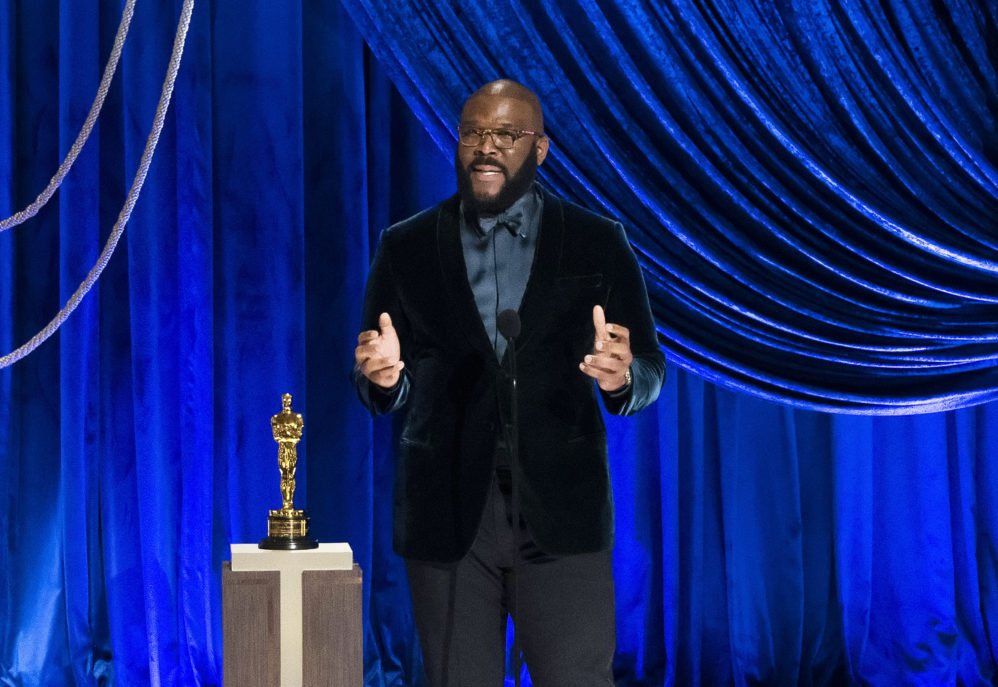 Tyler Perry Stuns Oscars With Powerful Rebuke Of Hate