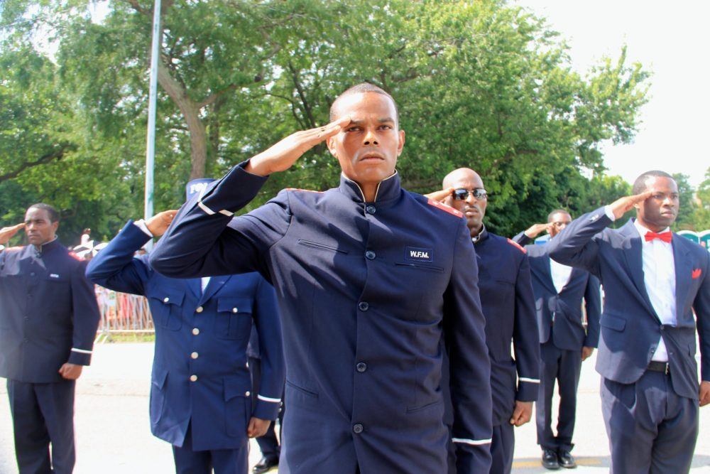 Nation Of Islam members at the 2015 Bud Bilken Parade in Chicago. Daniel X. O'Neil/Flickr