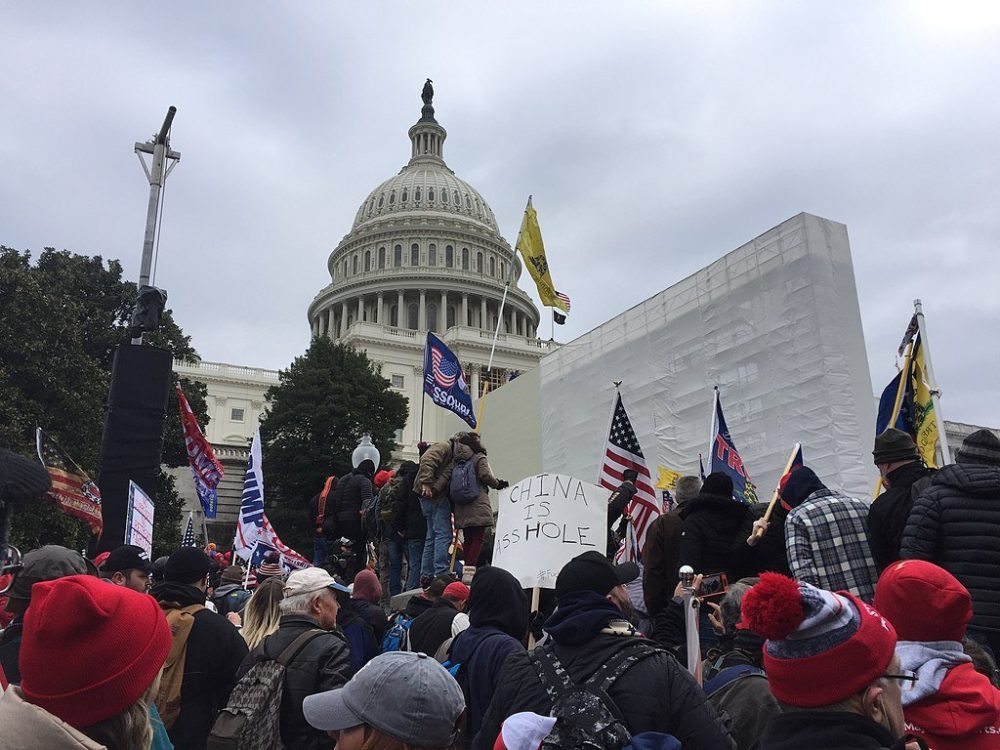 Capitol police on Jan. 6