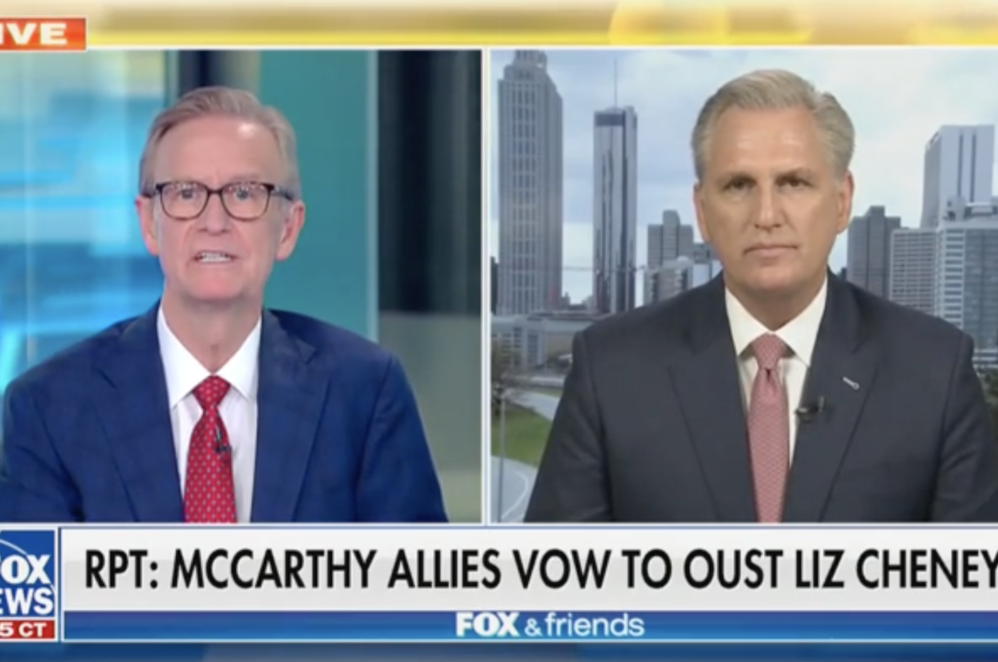 Kevin McCarthy Says House Republicans Are 'Concerned' About Liz Cheney's Ability To Lead