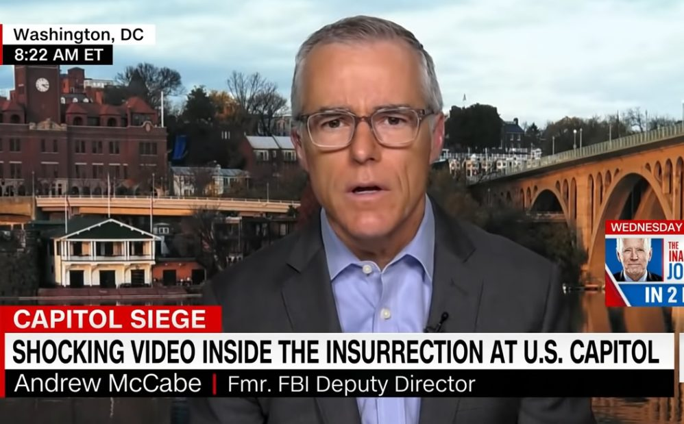 Andrew McCabe Whitewashes Far-Left Extremist Attack On Republican Baseball Practice