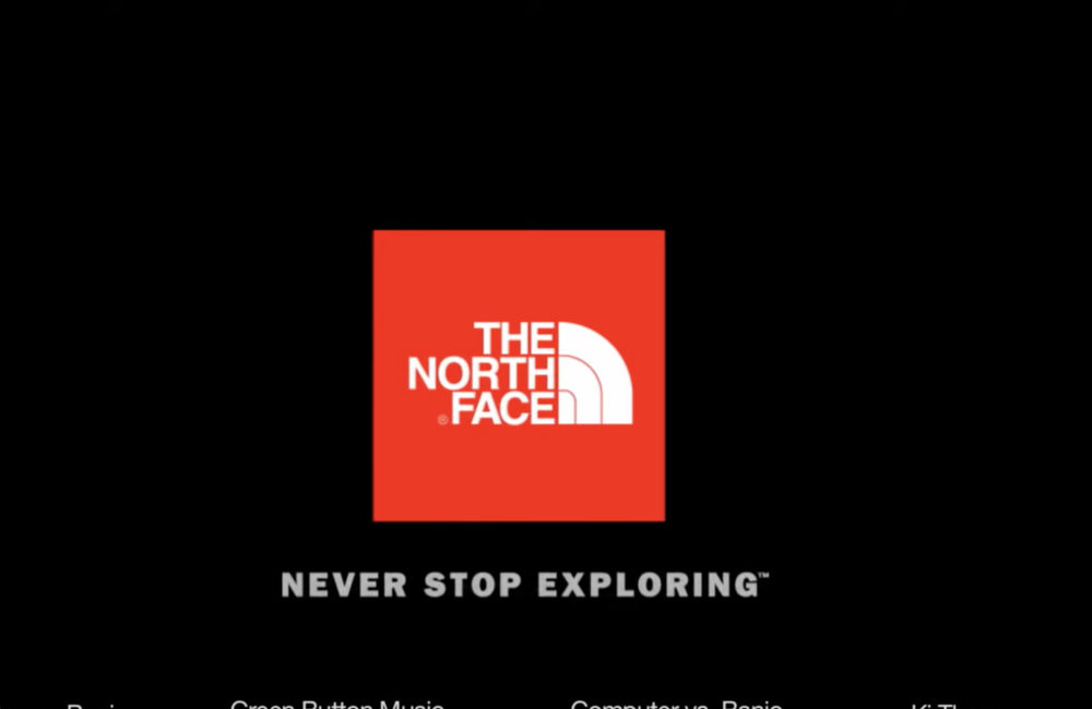oil and gas ties to North Face