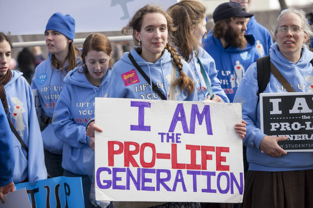 Roe v. Wade protest abortion