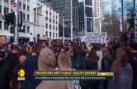 Global Protests Break Out Over Government Attempts To Force Lockdowns And Vaccine Passports