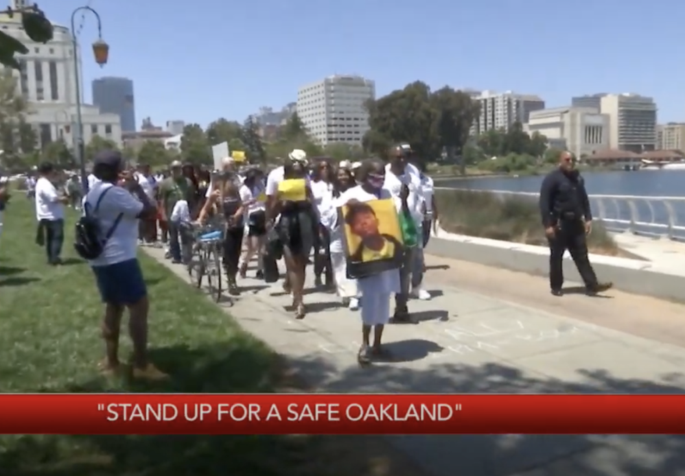 Anti-Police Protesters Disrupt Black Families Mourning Victims Of Violent Crime In Oakland