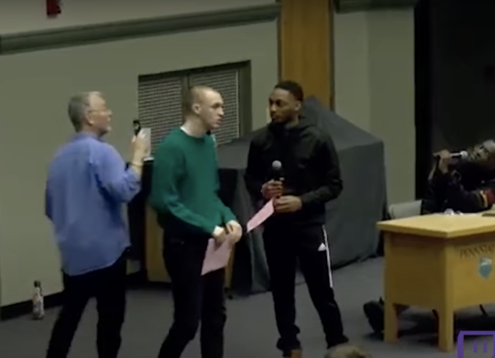 Penn State Professor Singles Out White Student To Discuss His Supposed Privilege