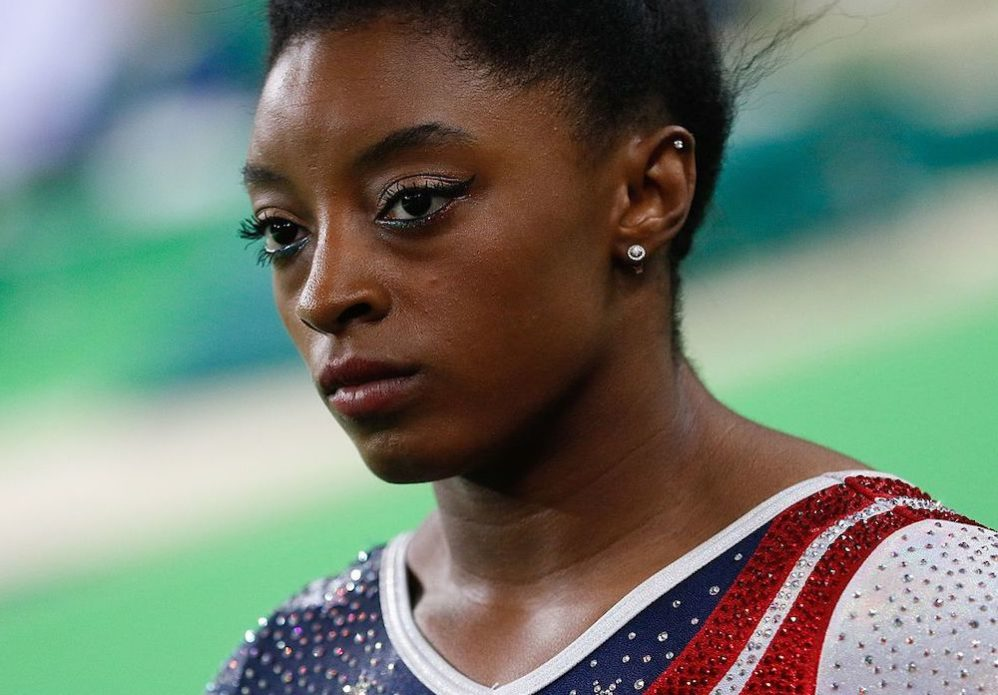 There's No 'I' In Team, But There Is In Simone Biles