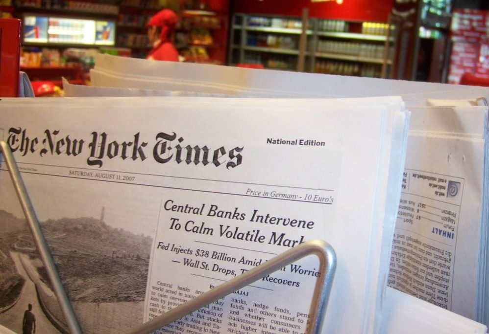 New York Times Invents Yet Another False Story To Smear Trump Administration